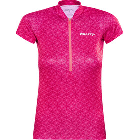 Craft Velo Graphic Jersey Women P Wheel Push